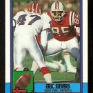 New England Patriots Eric Sievers 1990 Topps Football Card 428