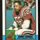New England Patriots Johnny Rembert 1990 Topps Football Card 430