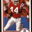 New England Patriots John Stephens 1991 Upper Deck Football Card 266