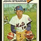 New York Mets John Stearns 1977 Topps Baseball Card 119 good