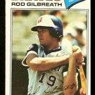 Atlanta Braves Rod Gilbreath 1977 Topps Baseball Card 126 vg
