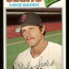San Francisco Giants Mike Sadek 1977 Topps Baseball Card 129 vg