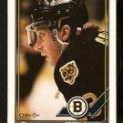 Boston Bruins Garry Galley 1991 OPC O Pee Chee Hockey Card 86