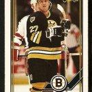 Boston Bruins Dave Christian 1991 OPC O Pee Chee Hockey Card 276