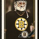 Boston Bruins Rejean Lemelin 1991 OPC O Pee Chee Hockey Card 497