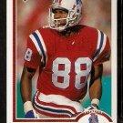 New England Patriots Hart Lee Dykes 1991 Upper Deck Football Card 433