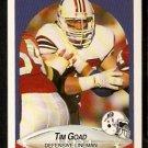 New England Patriots Tim Goad RC Rookie Card 1990 Fleer Football Card 318