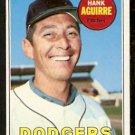 LOS ANGELES DODGERS HANK AQUIRRE 1969 TOPPS # 94 EX