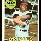 BALTIMORE ORIOLES DAVE MAY 1969 TOPPS # 113 EX/EM