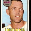 CLEVELAND INDIANS STAN WILLIAMS 1969 TOPPS # 118 VG/EX