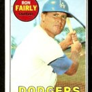 LOS ANGELES DODGERS RON FAIRLY 1969 TOPPS # 122