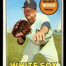 CHICAGO WHITE SOX WILBUR WOOD 1969 TOPPS # 123 VG/EX