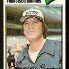 CHICAGO WHITE SOX FRANCISCO BARRIOS 1977 TOPPS # 222 VG