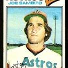 HOUSTON ASTROS JOE SAMBITO 1977 TOPPS # 227 good