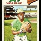 OAKLAND ATHLETICS VIDA BLUE 1977 TOPPS # 230 VG