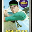 OAKLAND ATHLETICS JOE NOSSEK 1969 TOPPS # 143 EX