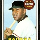 SAN DIEGO PADRES OLLIE BROWN 1969 TOPPS # 149 VG/EX