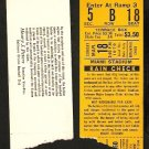1979 MIAMI STADIUM SPRING TRAINING TICKET STUB PITTSBURGH PIRATES vs BALTIMORE ORIOLES