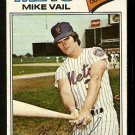 NEW YORK METS MIKE VAIL 1977 TOPPS # 246 VG