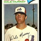 MONTREAL EXPOS DALE MURRAY 1977 TOPPS # 252 EX