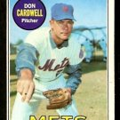 NEW YORK METS DON CARDWELL 1969 TOPPS # 193 good