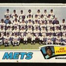 NEW YORK METS TEAM CARD 1977 TOPPS # 259 good marked cl
