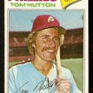 PHILADELPHIA PHILLIES TOM HUTTON 1977 TOPPS # 264 VG