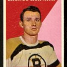 BOSTON BRUINS BRONCO HORVATH 1958 TOPPS # 35 EM/NM