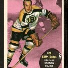 BOSTON BRUINS BOB ARMSTRONG 1961 TOPPS # 13 NR MT