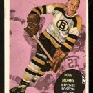 BOSTON BRUINS DOUG MOHNS 1961 TOPPS # 10 NR MT