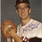 BOSTON RED SOX JIM LONBORG AUTOGRAPHED PHOTO