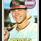 CALIFORNIA ANGELS RICK REICHARDT 1969 TOPPS # 205 EX/EM