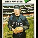CHICAGO WHITE SOX TERRY FORSTER 1977 TOPPS # 271 G/VG