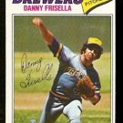 MILWAUKEE BREWERS DANNY FRISELLA 1977 TOPPS # 278 VG