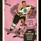 BOSTON BRUINS JERRY TOPPOZZINI TOPPAZZINI 1961 TOPPS # 9 NR MT