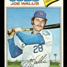 CHICAGO CUBS JOE WALLIS 1977 TOPPS # 279 G/VG