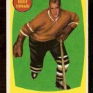 BOSTON BRUINS CLIFF PENNINGTON ROOKIE CARD RC 1961 TOPPS # 19 NR MT