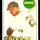 SAN FRANCISCO GIANTS FRANK JOHNSON 1969 TOPPS # 227 EX
