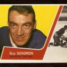 BOSTON BRUINS GUY GENDRON 1963 TOPPS # 16 NM