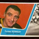 BOSTON BRUINS FORBES KENNEDY 1963 TOPPS # 19