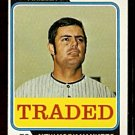 NEW YORK YANKEES LOU PINIELLA 1974 TOPPS TRADED # 390T EM/NM