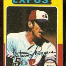 MONTREAL EXPOS STEVE ROGERS 1975 TOPPS # 173 VG/EX