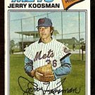 NEW YORK METS JERRY KOOSMAN 1977 TOPPS # 300 good