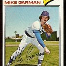 CHICAGO CUBS MIKE GARMAN 1977 TOPPS # 302 VG