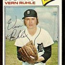 DETROIT TIGERS VERN RUHLE 1977 TOPPS # 311 VG