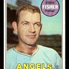 LOS ANGELES ANGELS EDDIE FISHER 1969 TOPPS # 315 VG/EX