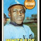 CHICAGO WHITE SOX WALT WILLIAMS 1969 TOPPS # 309 fair