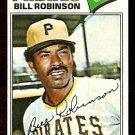 PITTSBURGH PIRATES BILL ROBINSON 1977 TOPPS # 335 VG