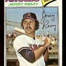 CALIFORNIA ANGELS JERRY REMY 1977 TOPPS # 342 EX/EM