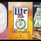 1995 BOSTON CELTICS 1ST FLEET CENTER POCKET SCHEDULE